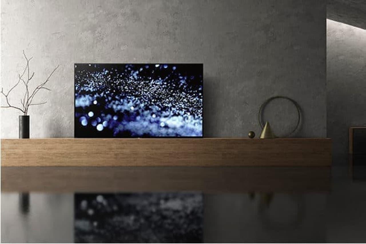 ソニーの4K有機ELテレビ