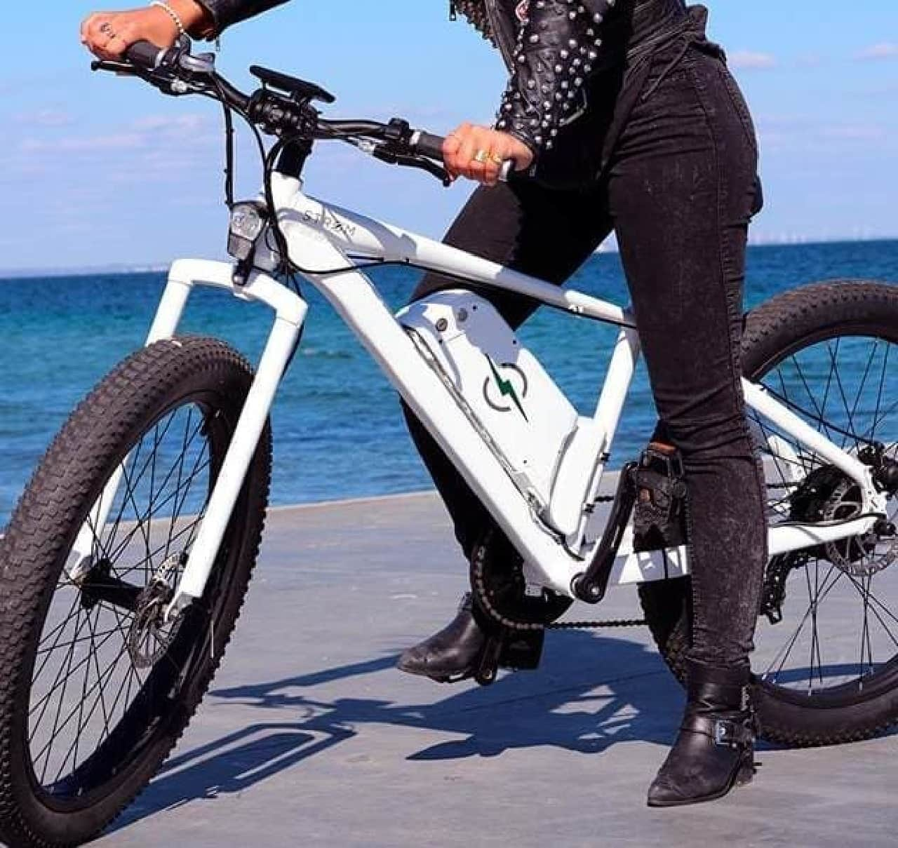 電動アシストらしくない電動アシスト自転車「STROM」…