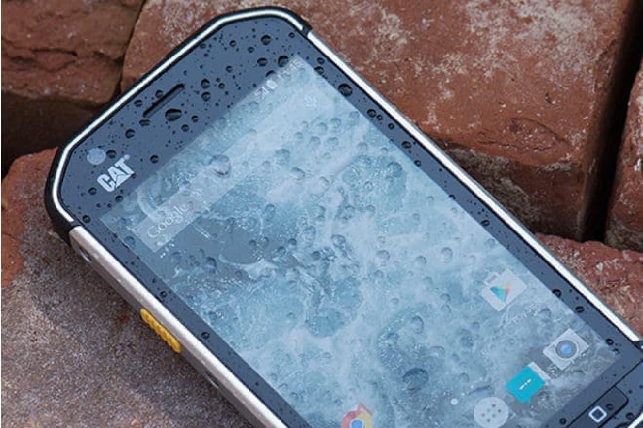 S40の防水イメージ