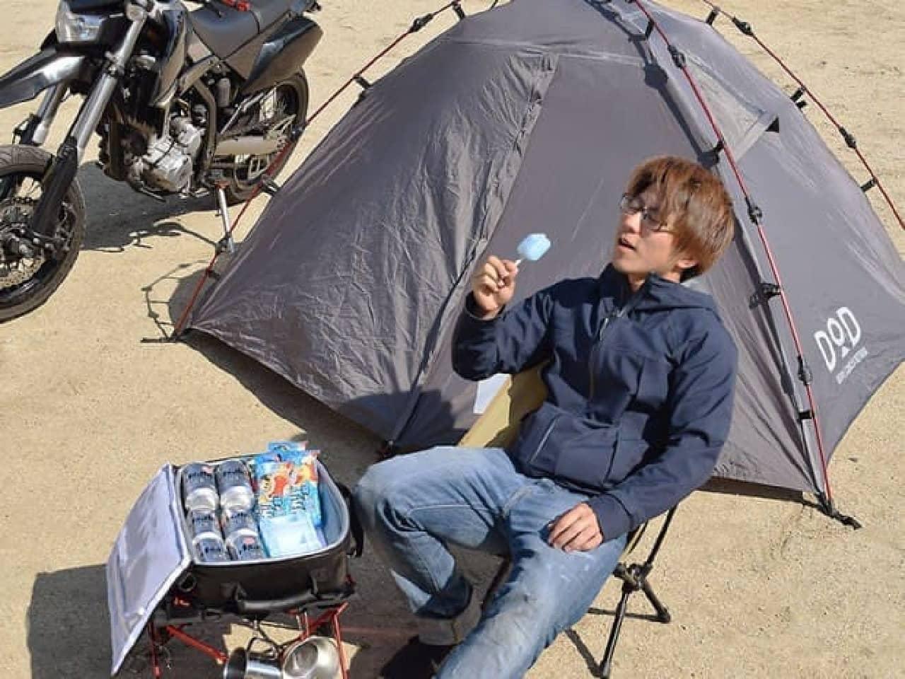 バイク用のクーラーボックス「ライダーズクーラーバッグ」