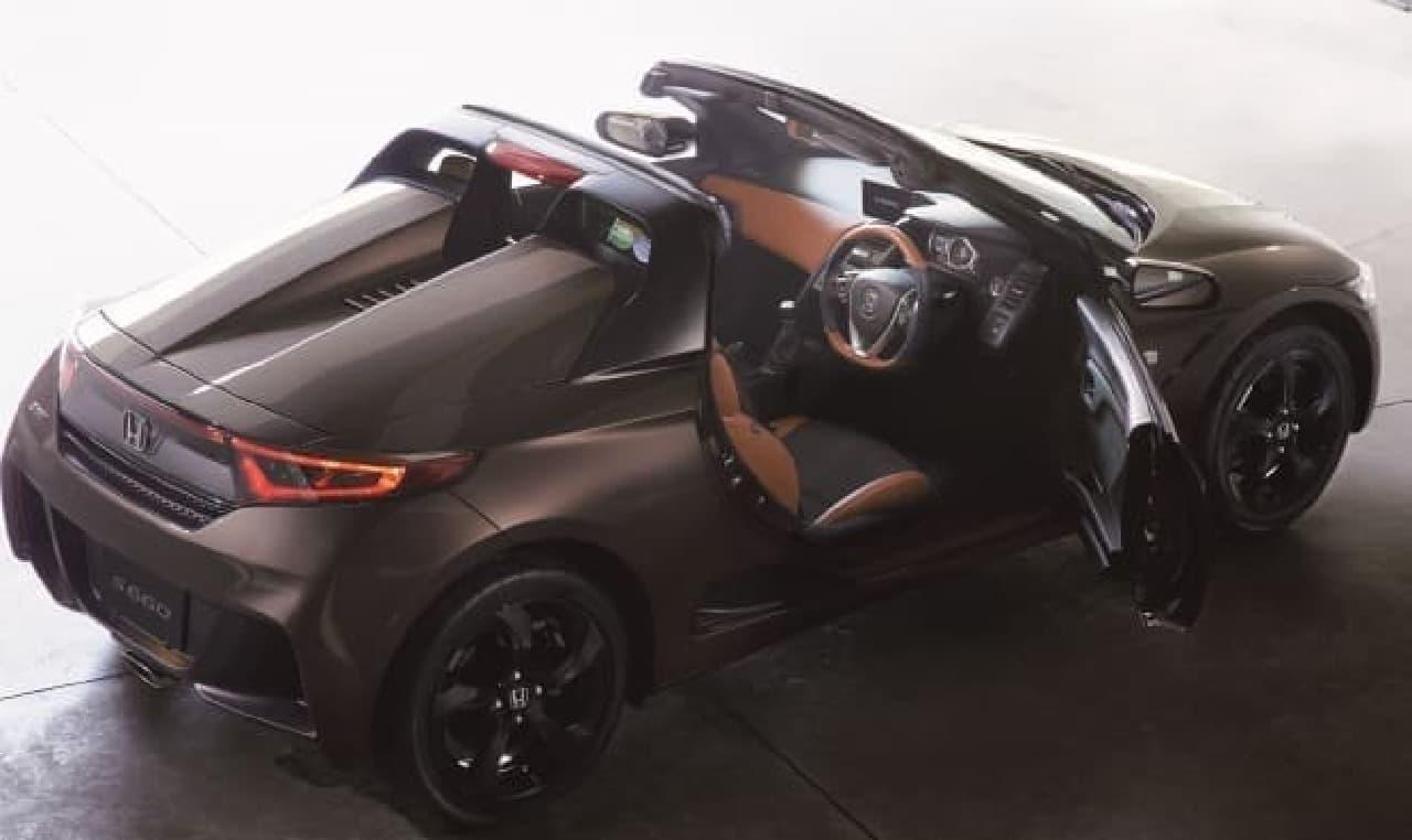 ホンダ、2シーター・オープンカーの「S660」に特別仕様車「Bruno Leather Edition」