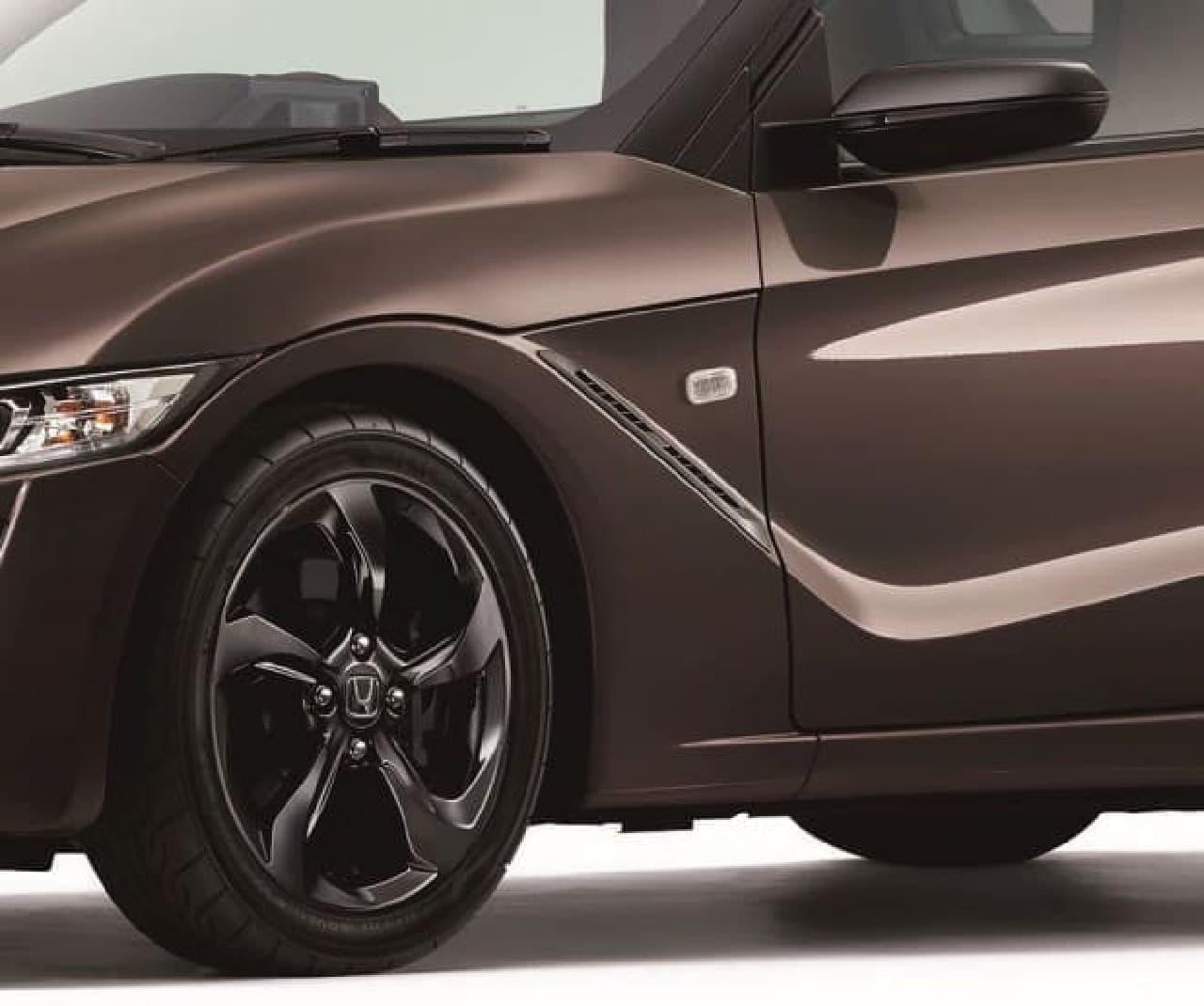 ホンダ「S660」に特別仕様車「Bruno Leather Edition」