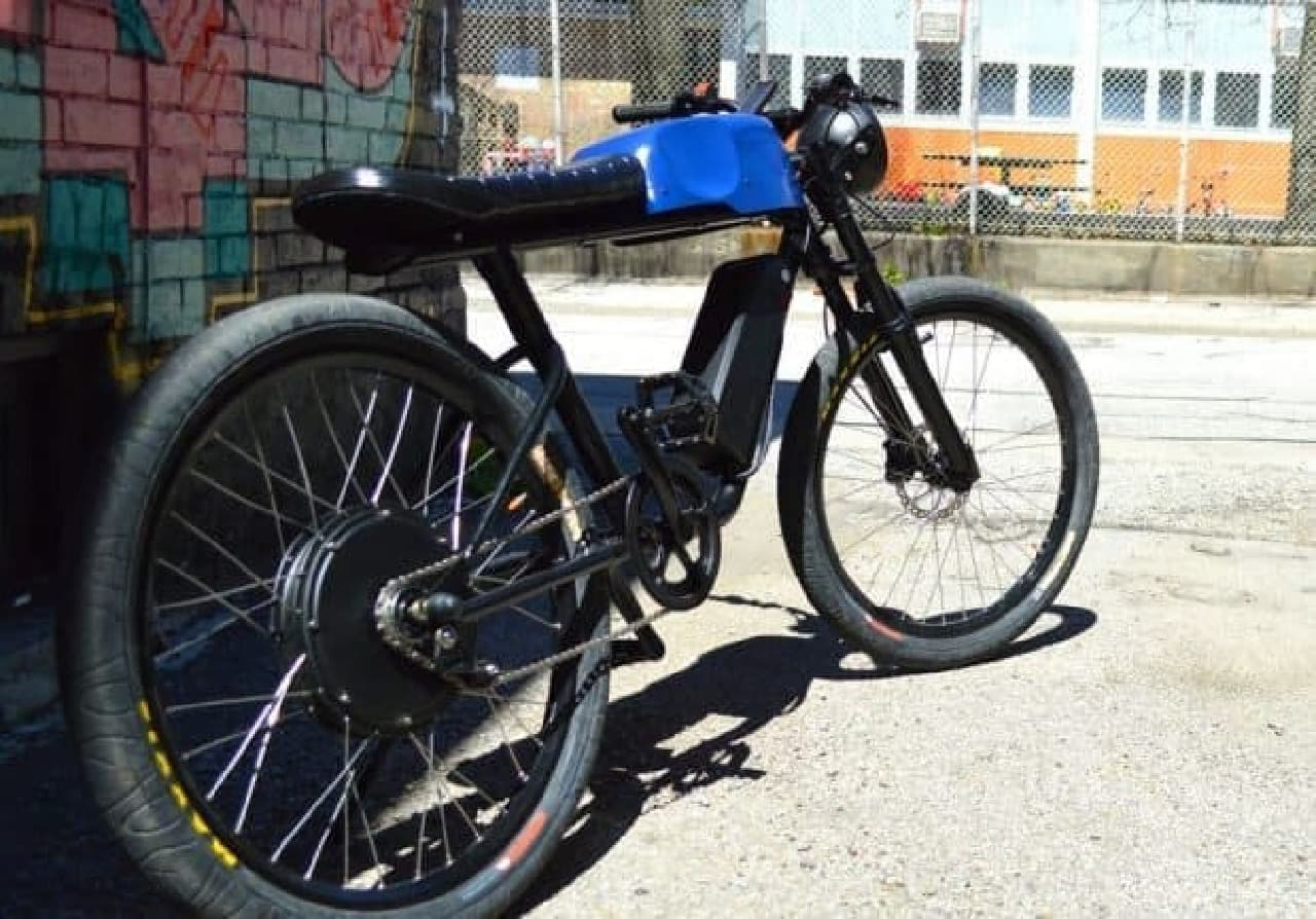 ビンテージバイクみたいな電動アシスト自転車「CR-T1」