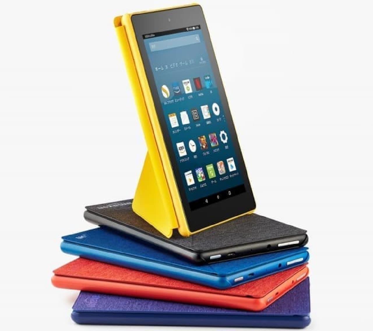 Amazon、新世代のFireタブレット 2機種「Amazon Fire 7」と「Amazon Fire HD 8」を発売