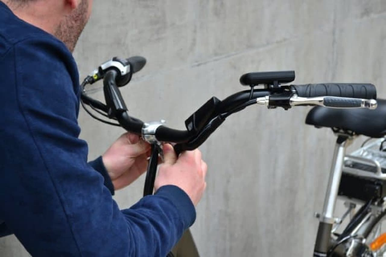 ナビ機能のついた自転車用ハンドルバー「Wink Bar」