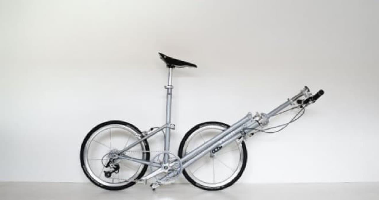 部屋に飾っておきたい折り畳み自転車「Whippet」