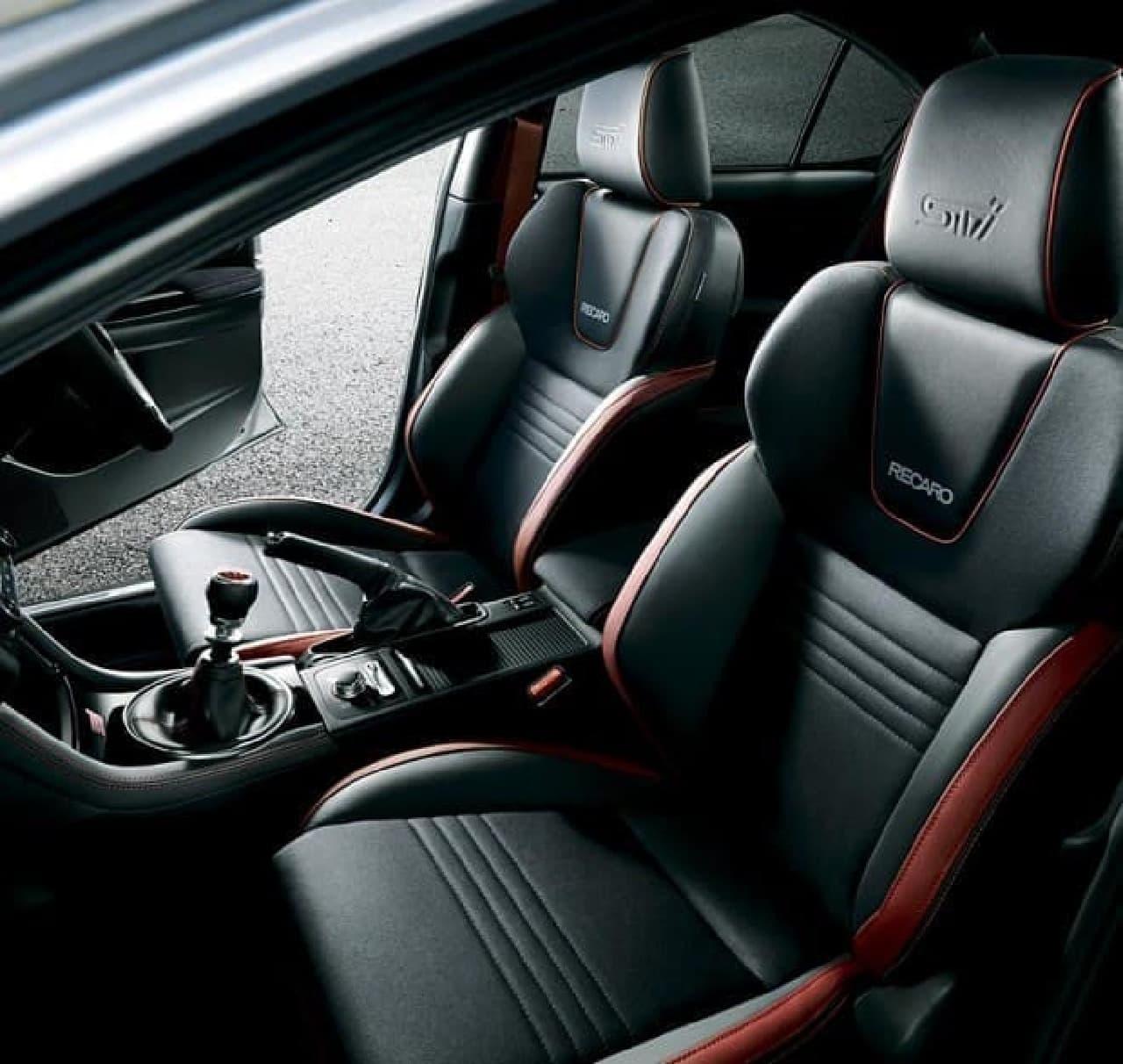 SUBARU、「WRX STI」大幅改良モデルを発表