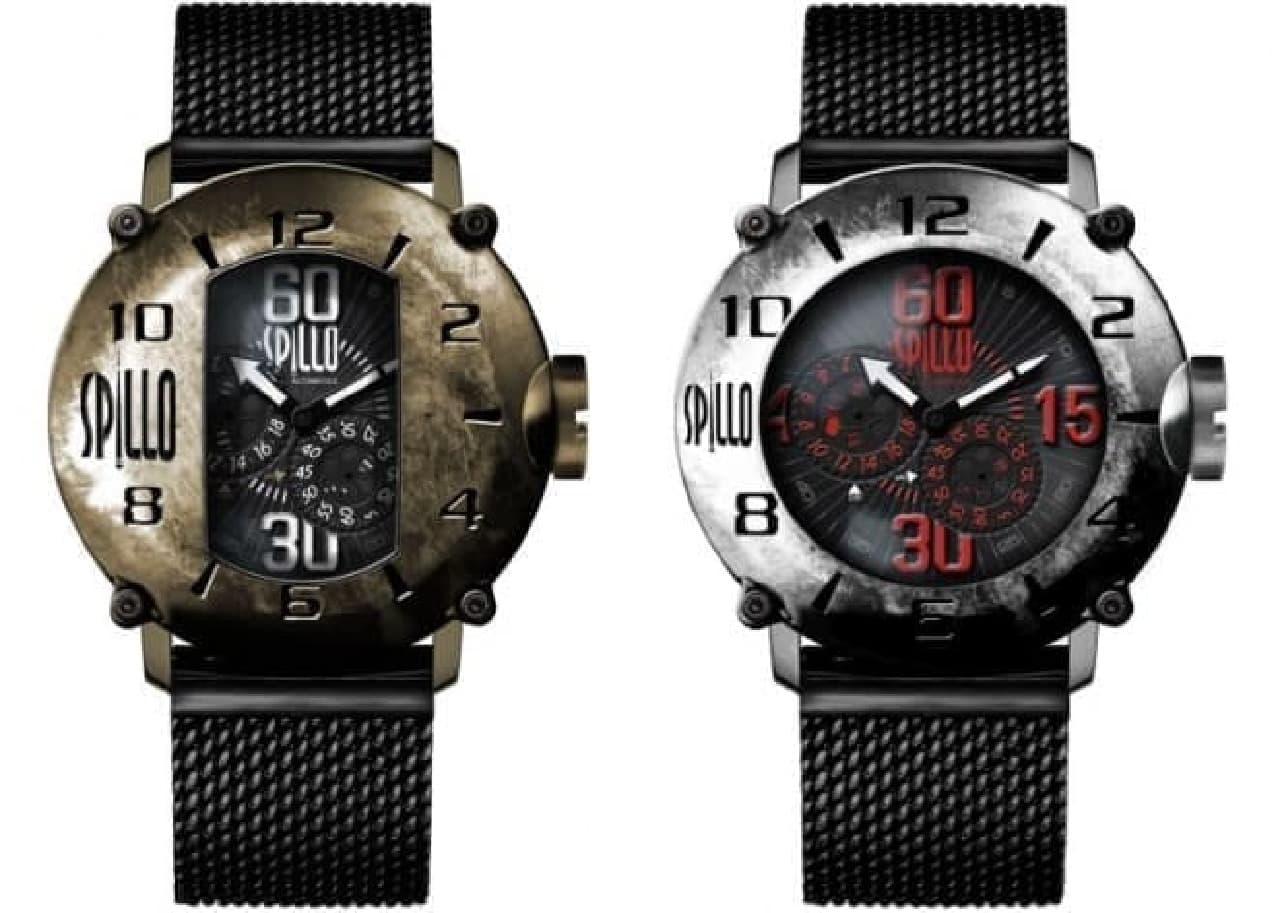 バイク好き向けの腕時計 イタリア「SPILLO(スピーロ)」