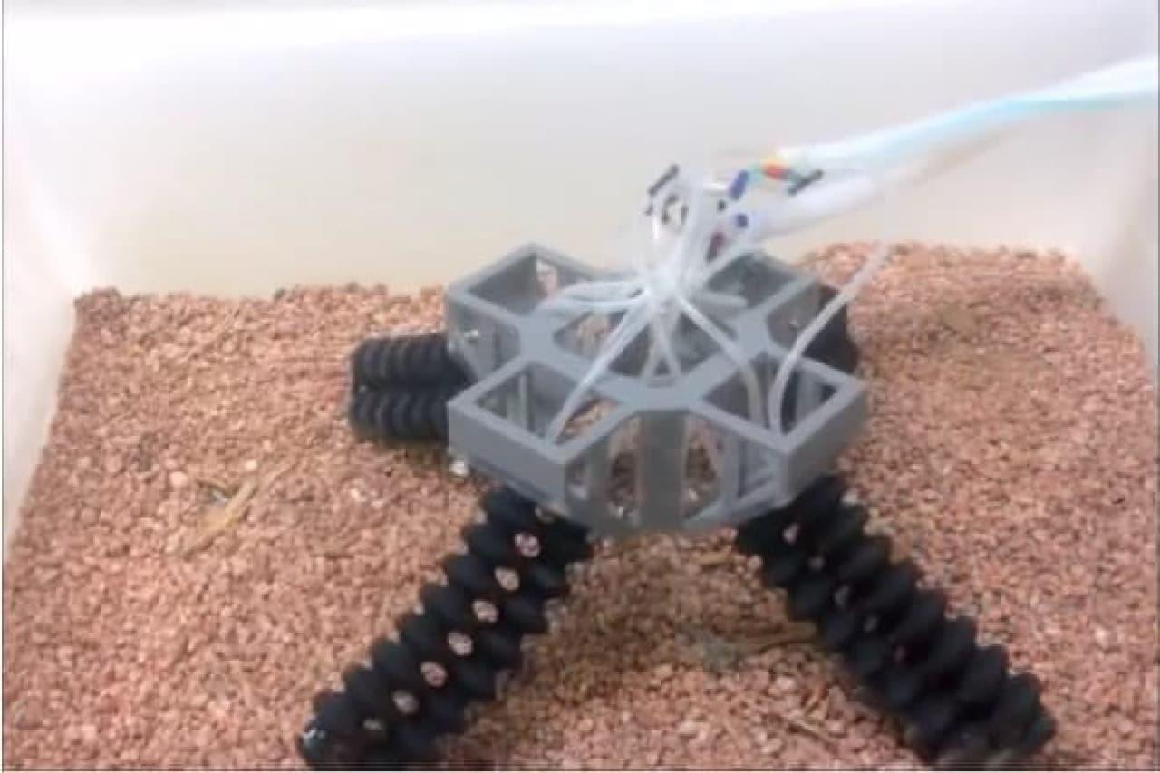 ロボットの足場のイメージ