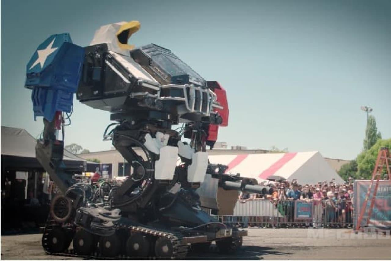 ロボットぽくなったMegBot Mk.III