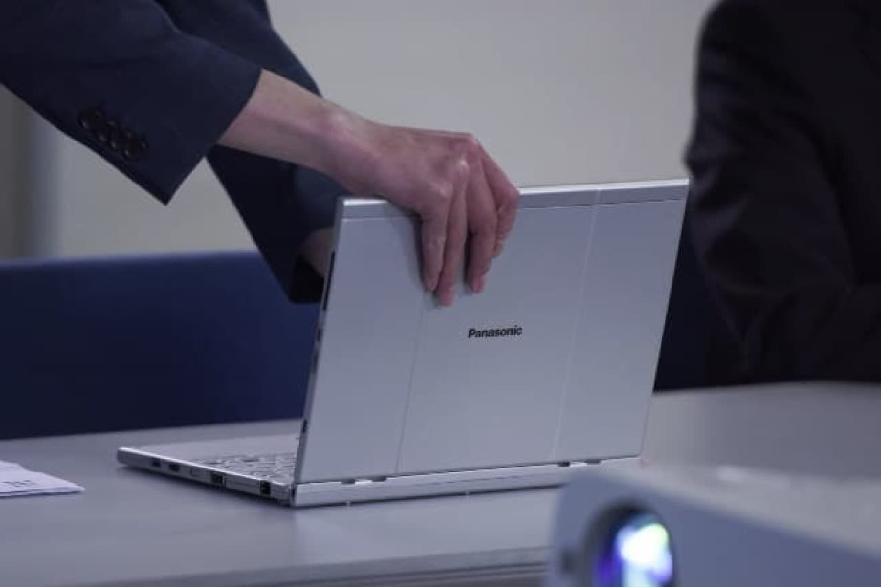 ノートPCとして利用する場面