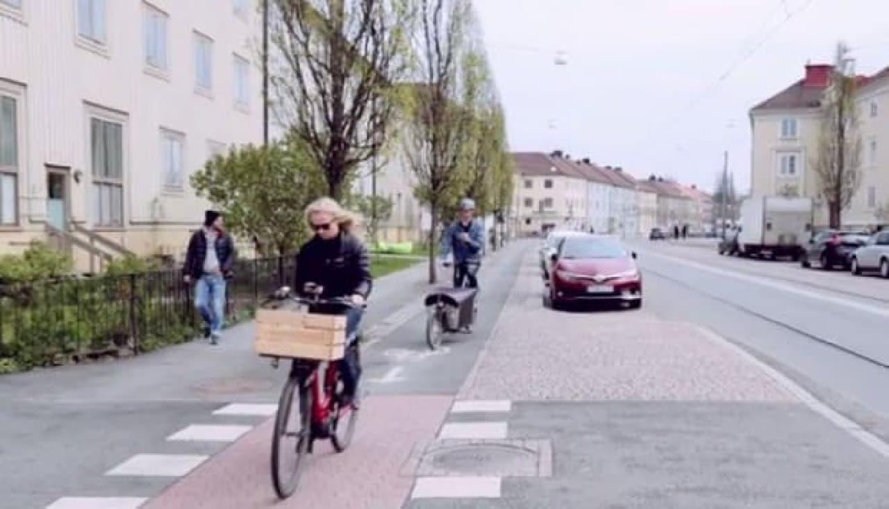 自転車・バイク用のナビ「GOMINI」