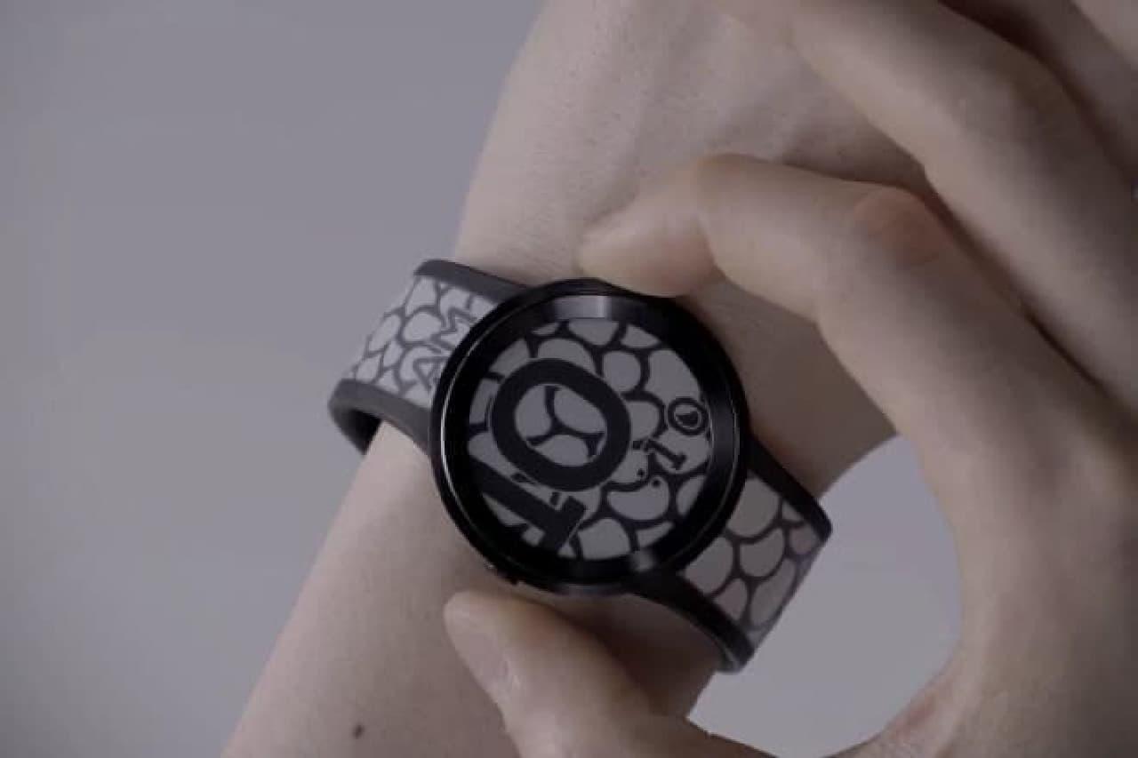 電子ペーパー製腕時計