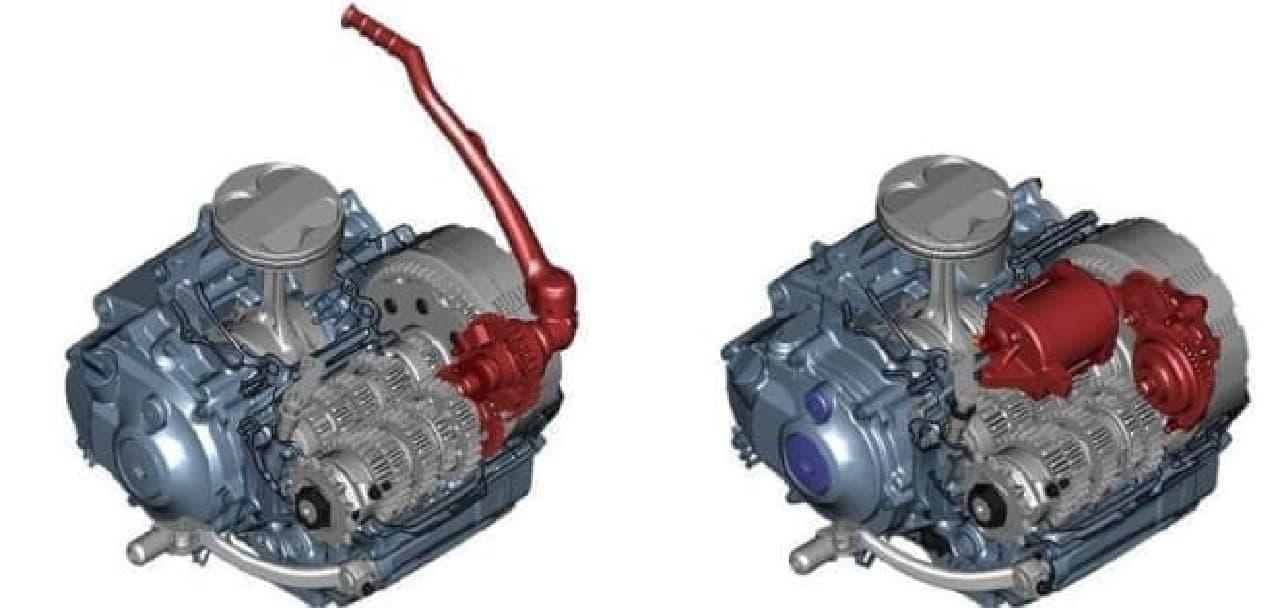 ヤマハ、モトクロス競技用「YZ450F」に2018年モデル