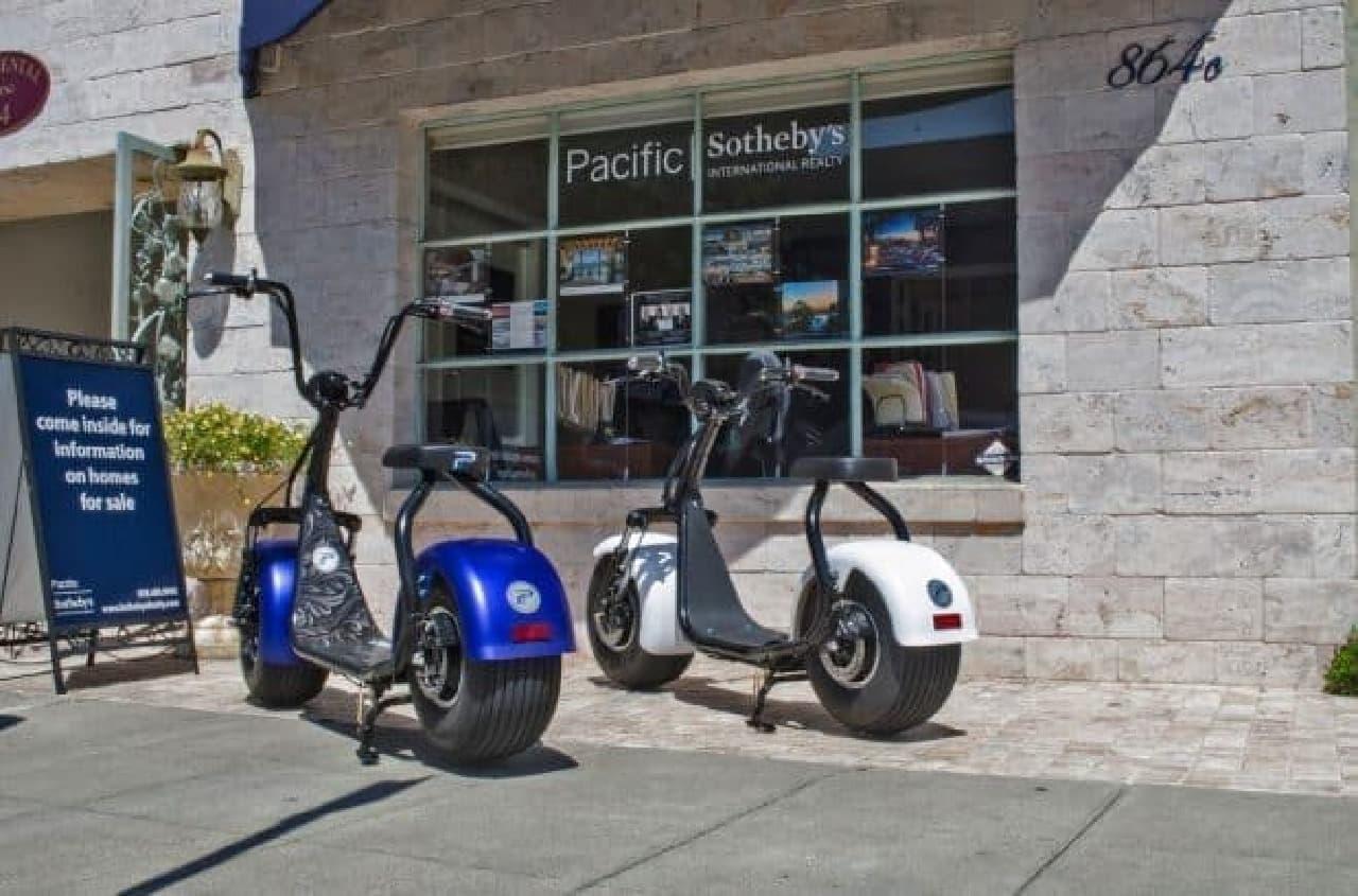 電動スクーターに見えない電動スクーター「PHAT SCOOTERS」