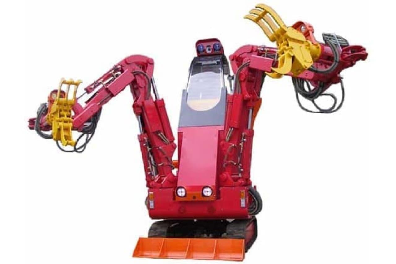 レスキューロボット、援竜の製品写真