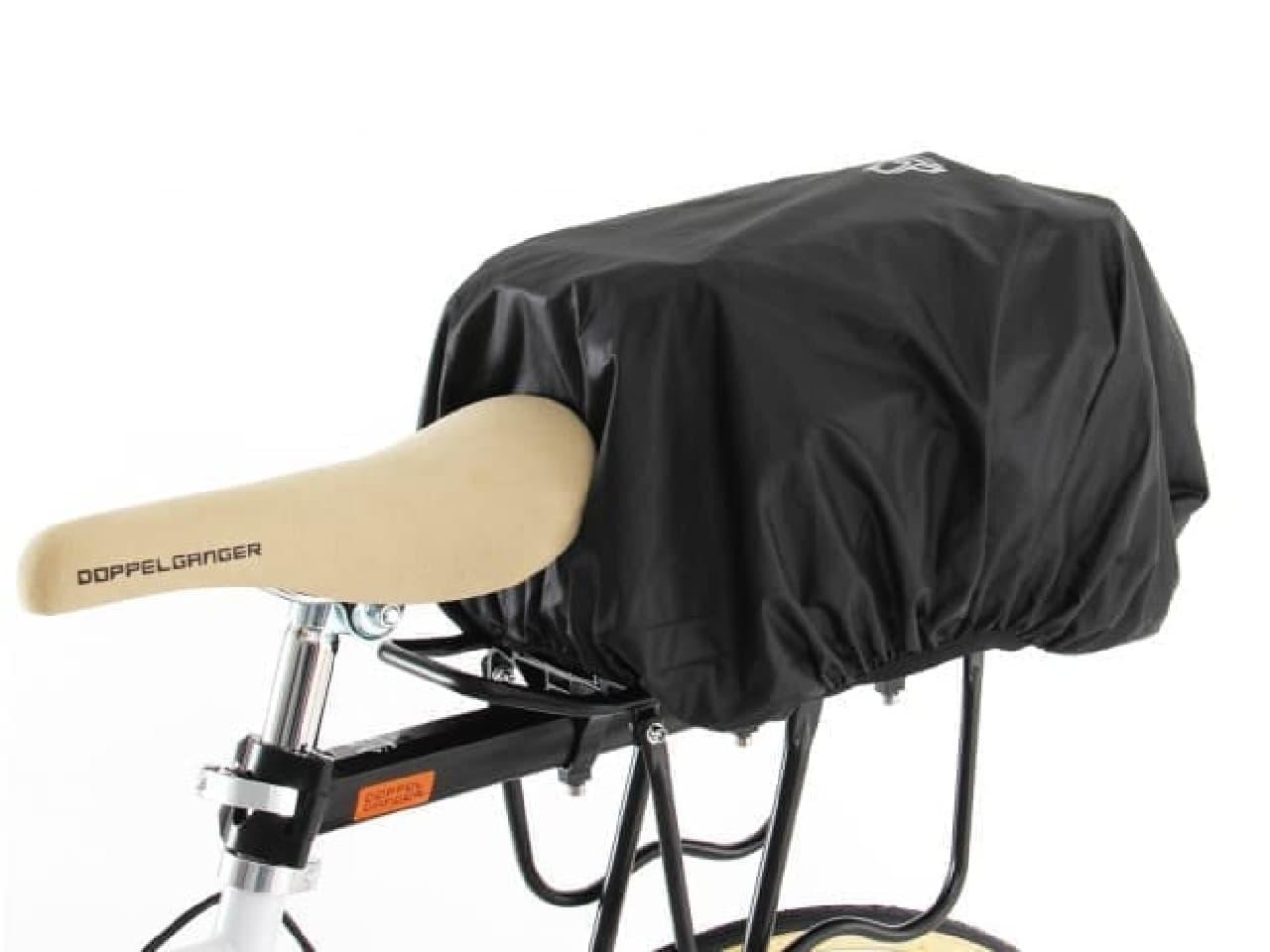 オンデマンドな自転車用の荷台「エクステンションリアキャリア」