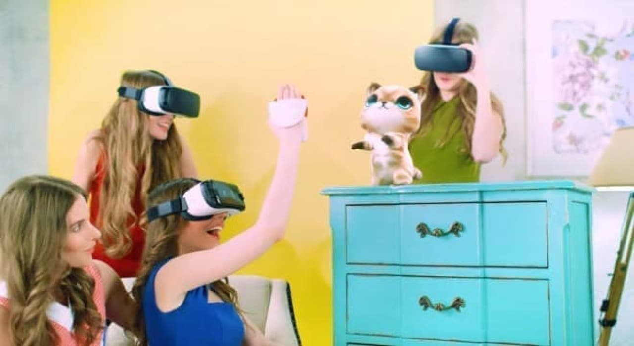 映像内のものに触っている感触を得られる「Hapto VR」