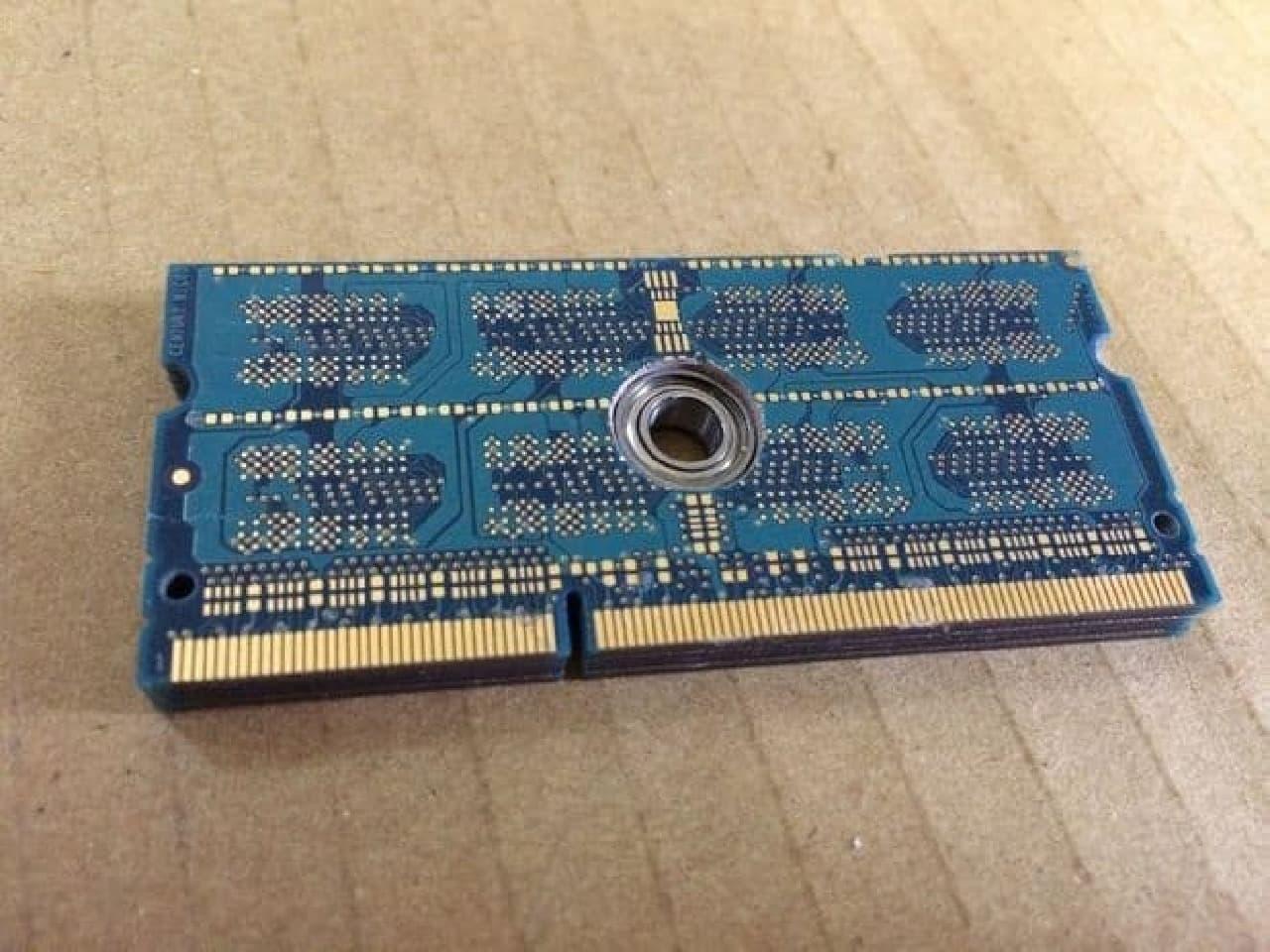 メモリーモジュール型スピナーの作例