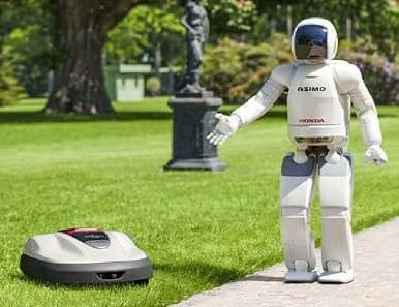 ホンダ、ロボット芝刈機「Miimo HRM520」を発売