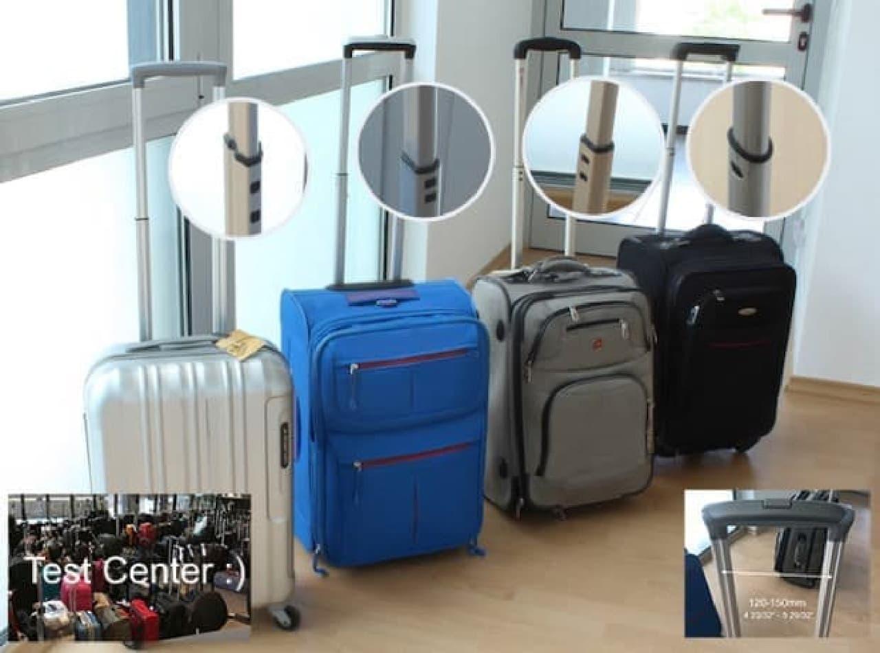 スーツケースをPCデスクにする「Smartoo」