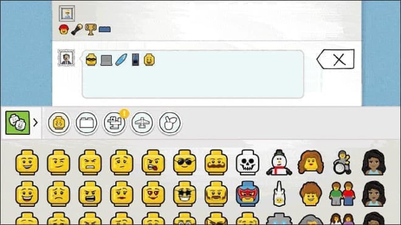 レゴのSNSイメージ