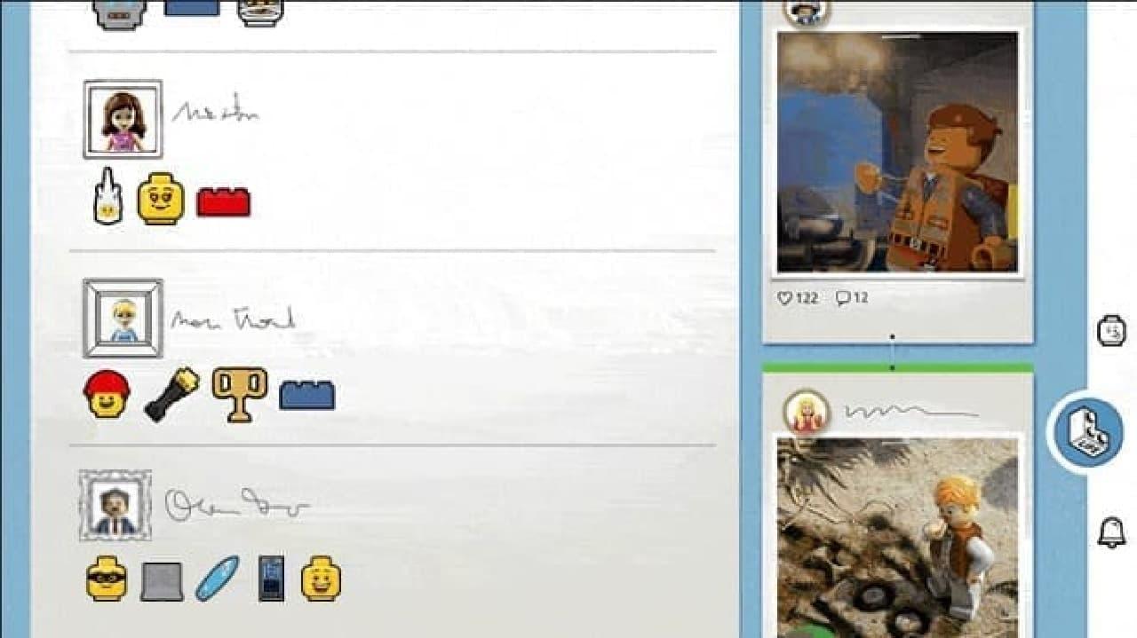 レゴSNSの利用イメージ