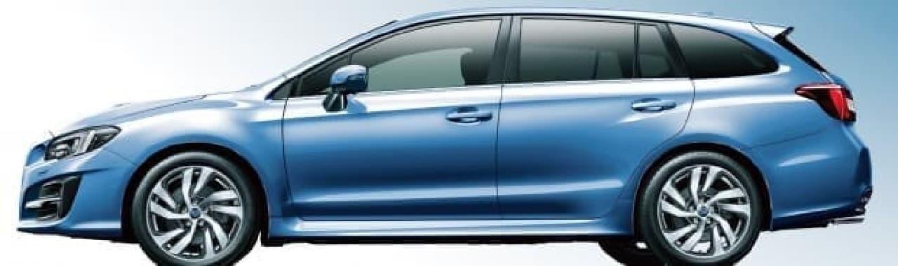 SUBARU「レヴォーグ」大幅改良モデルを8月7日発売