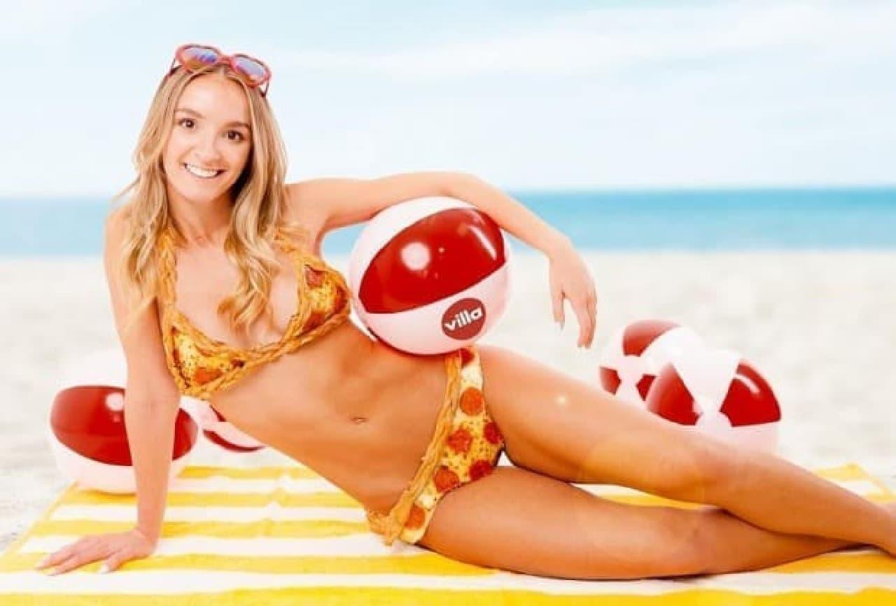 ニューヨークのピザ屋がピザでできたビキニ「PIZZA-KINI」の予約を受け付け中