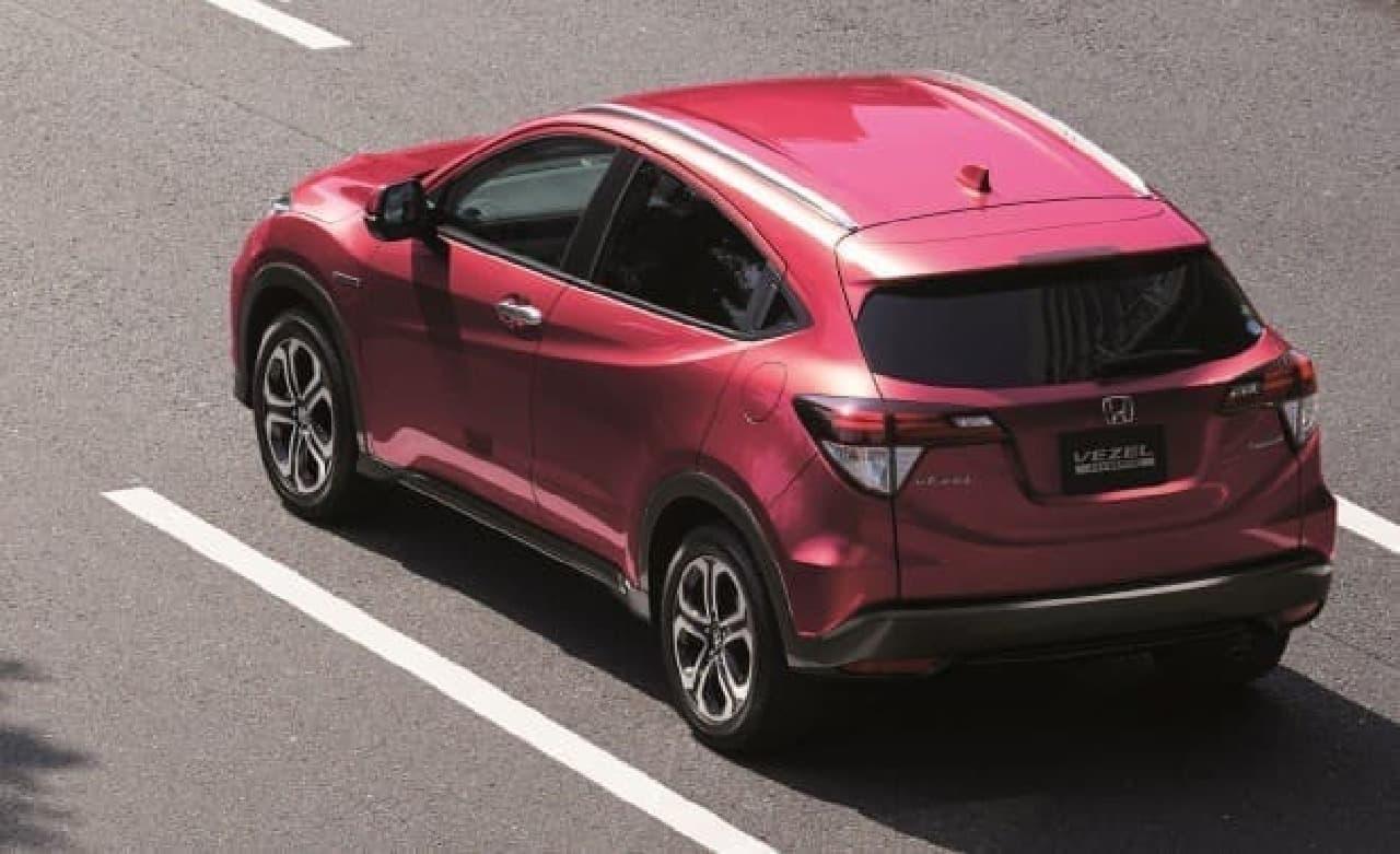 ホンダ「VEZEL」に特別仕様車「HYBRID X・Honda SENSING BRILLIANT STYLE EDITION」