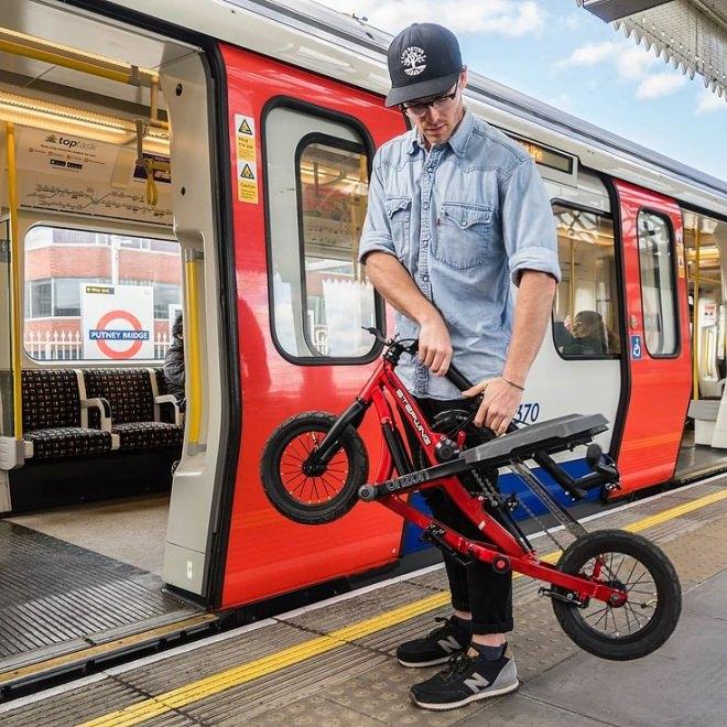 通勤用自転車+スポーツジムのステップマシン=「Stepwing」