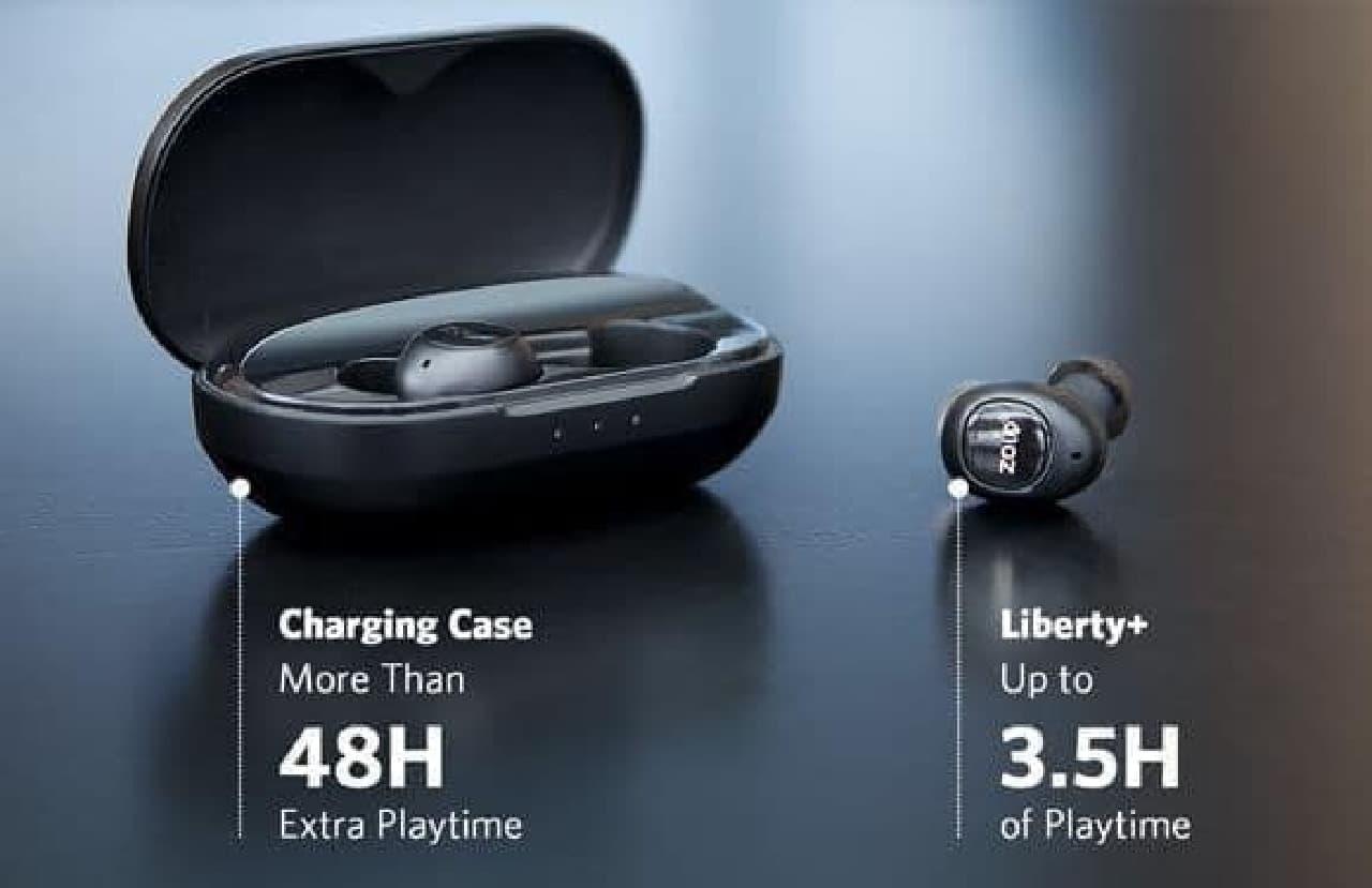 Bluetoothイヤホン「Liberty+」
