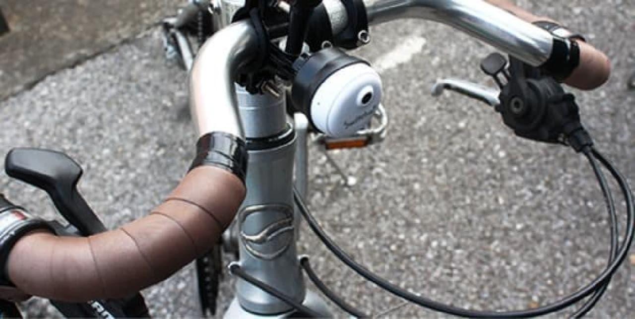 自転車用のドラレコ「Switcha!」