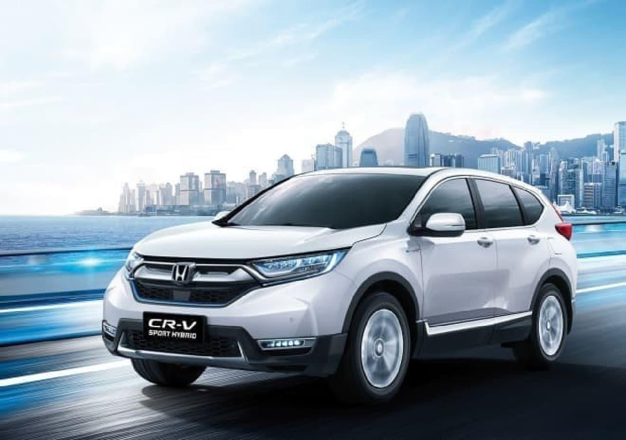 東風ホンダ、新型「CR-V」を発表