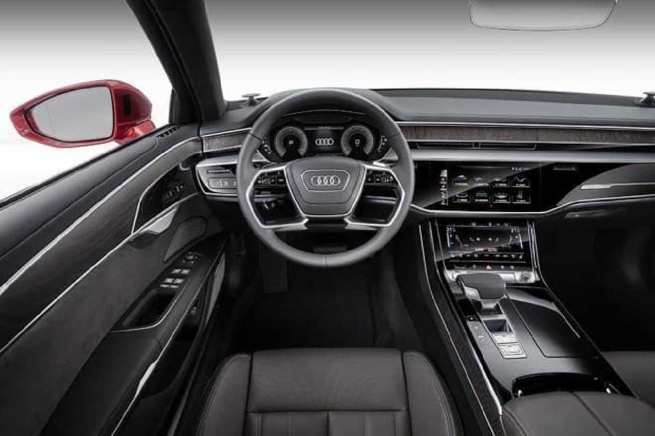 新型Audi A8、アウディサミットでデビュー