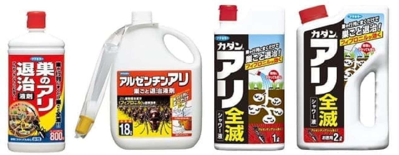 アリ用殺虫剤のイメージ