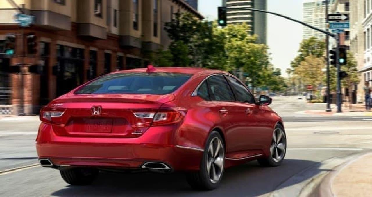 ホンダ、北米向け新型「Accord」を発表