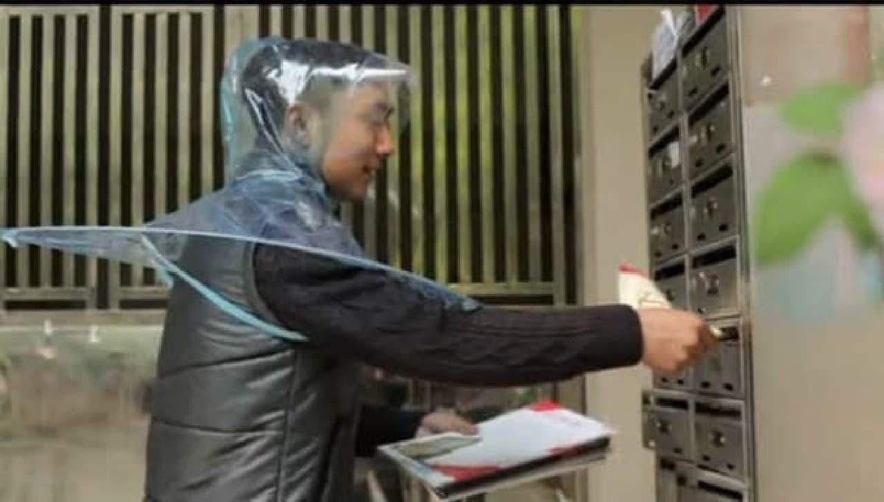 中国製の「レインコートアンブレラ」が、日本製品テイストだと話題に