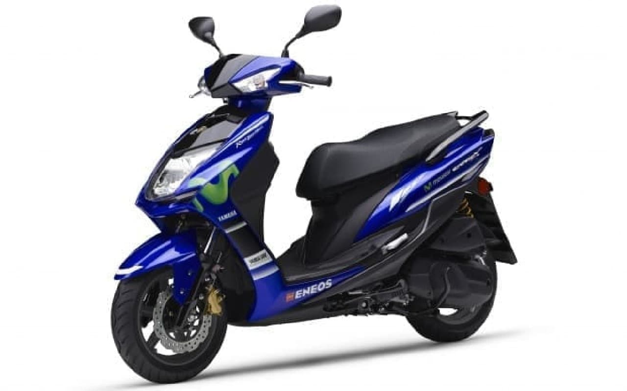 「シグナスX XC125SR」Movistar Yamaha MotoGP Edition