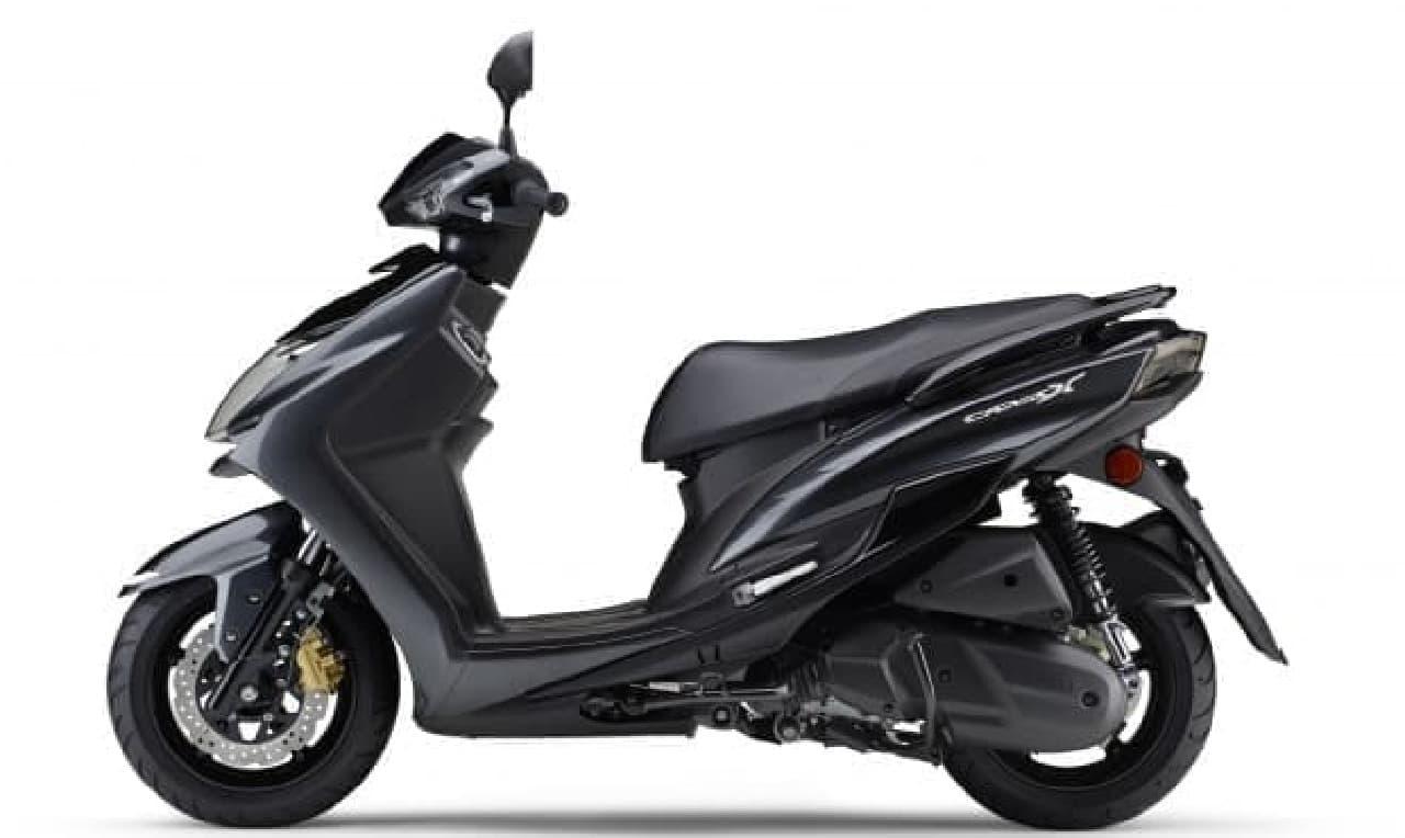 ヤマハ「シグナスX XC125SR」のカラーリングを変更