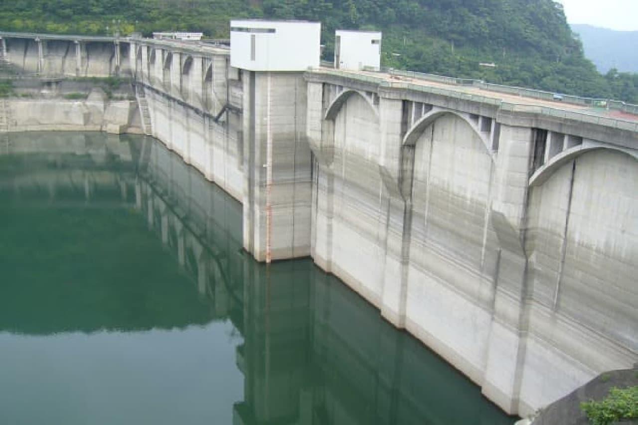 荒川水系のダム写真