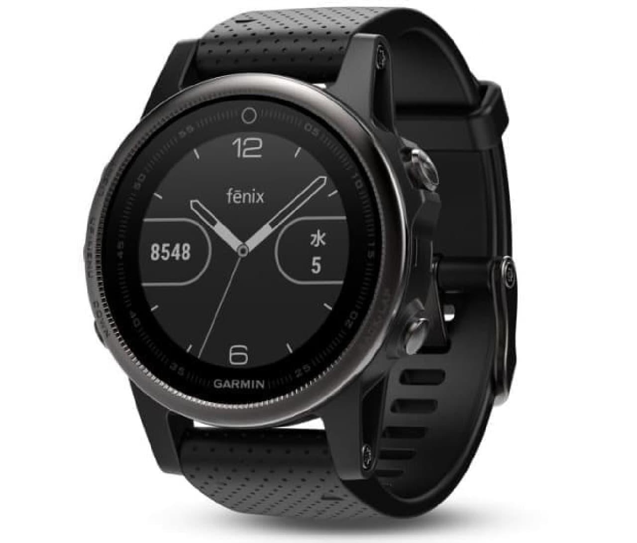 GPSマルチスポーツウォッチ「fenix5」に新モデル