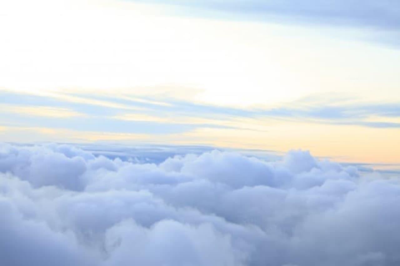 雲海たなびくイメージ