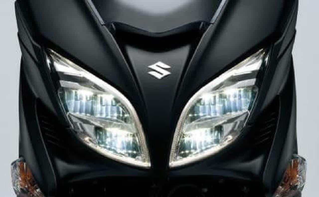 スズキ「バーグマン400 ABS」、国内でも販売開始