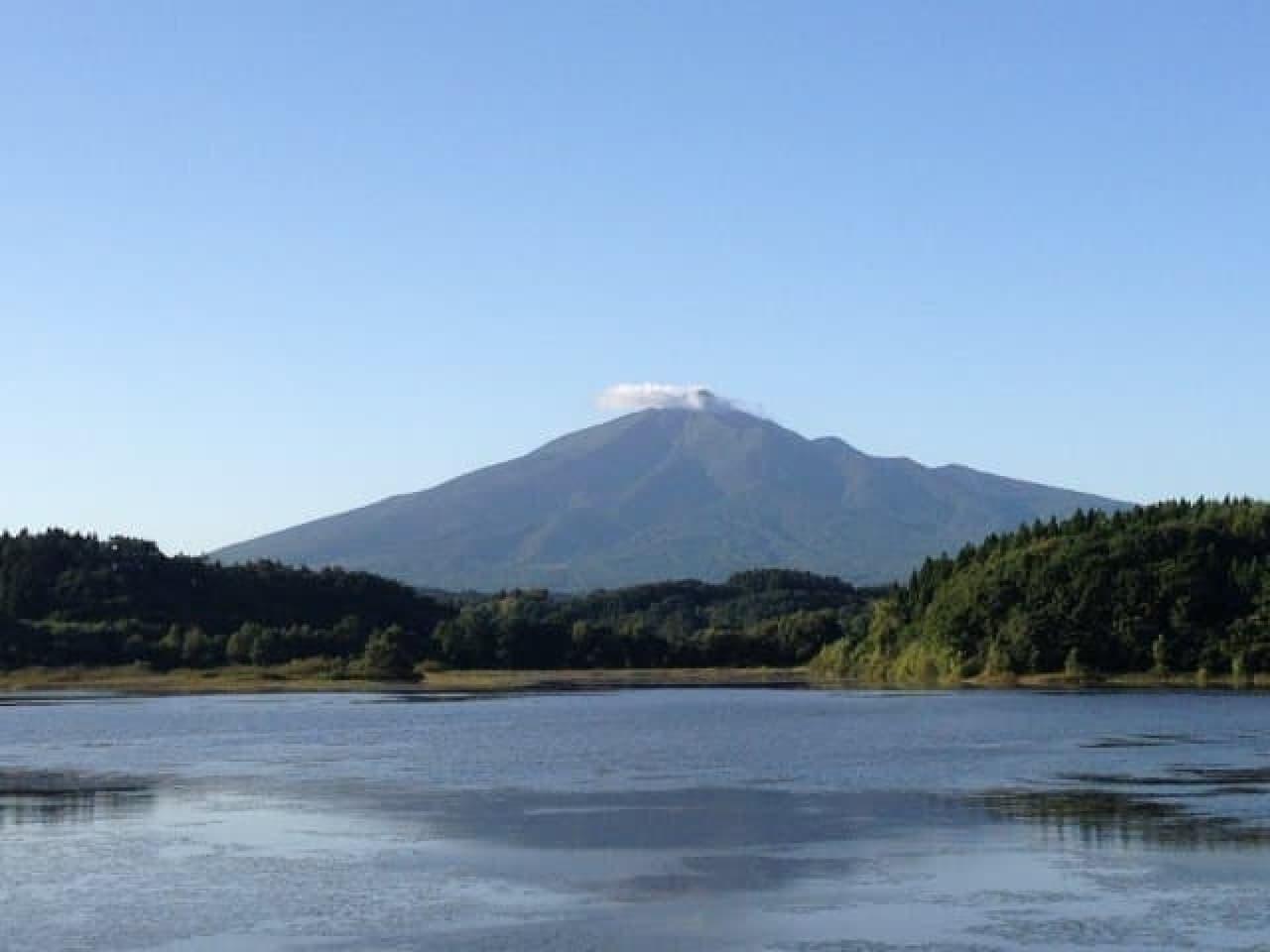 岩木山のイメージ