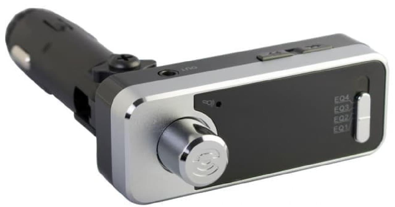 Bluetooth FMトランスミッター「OWL-BTFMU331」