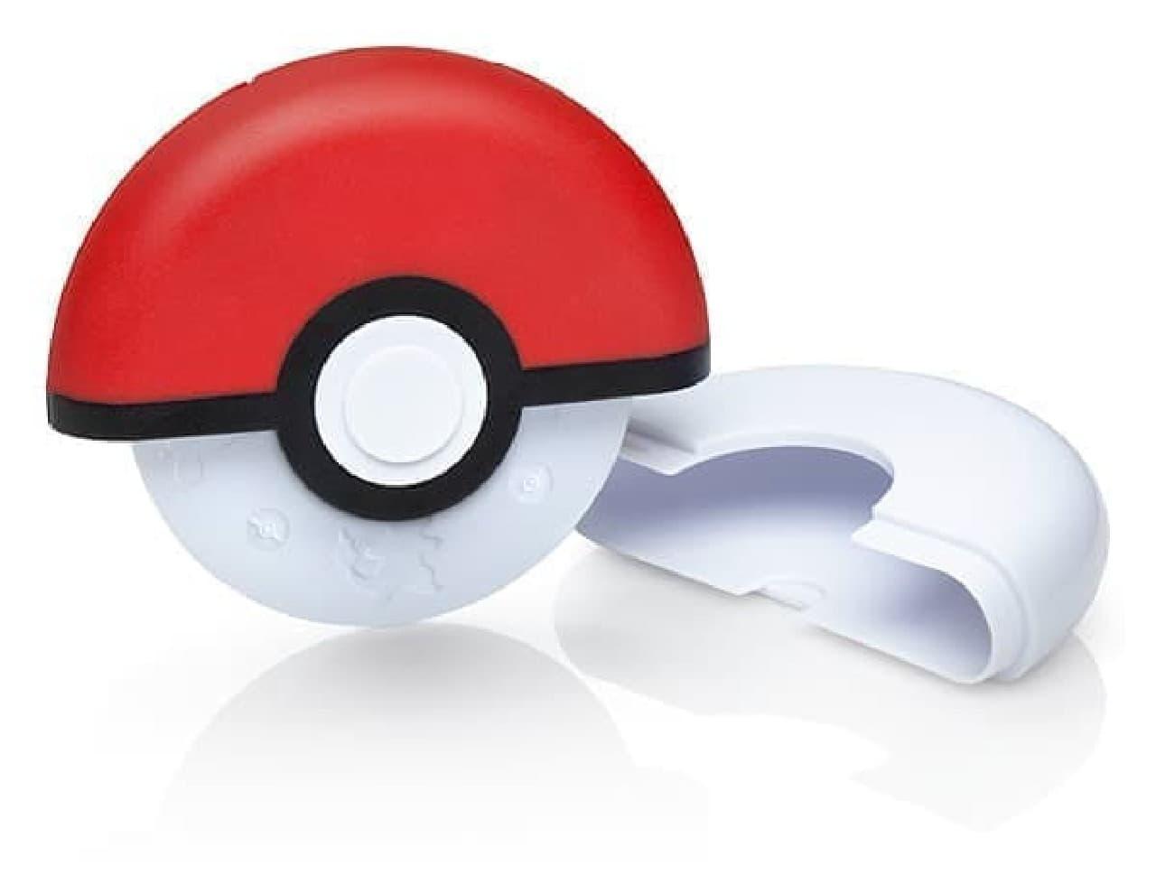 モンスターボールみたいなピザカッター「Poke Ball Pizza Cutter」