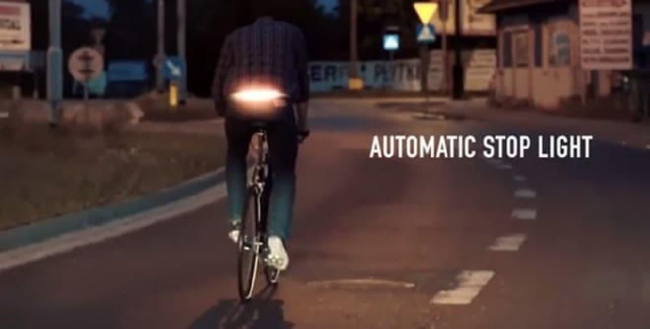 自転車用方向指示器「BlinkLight」