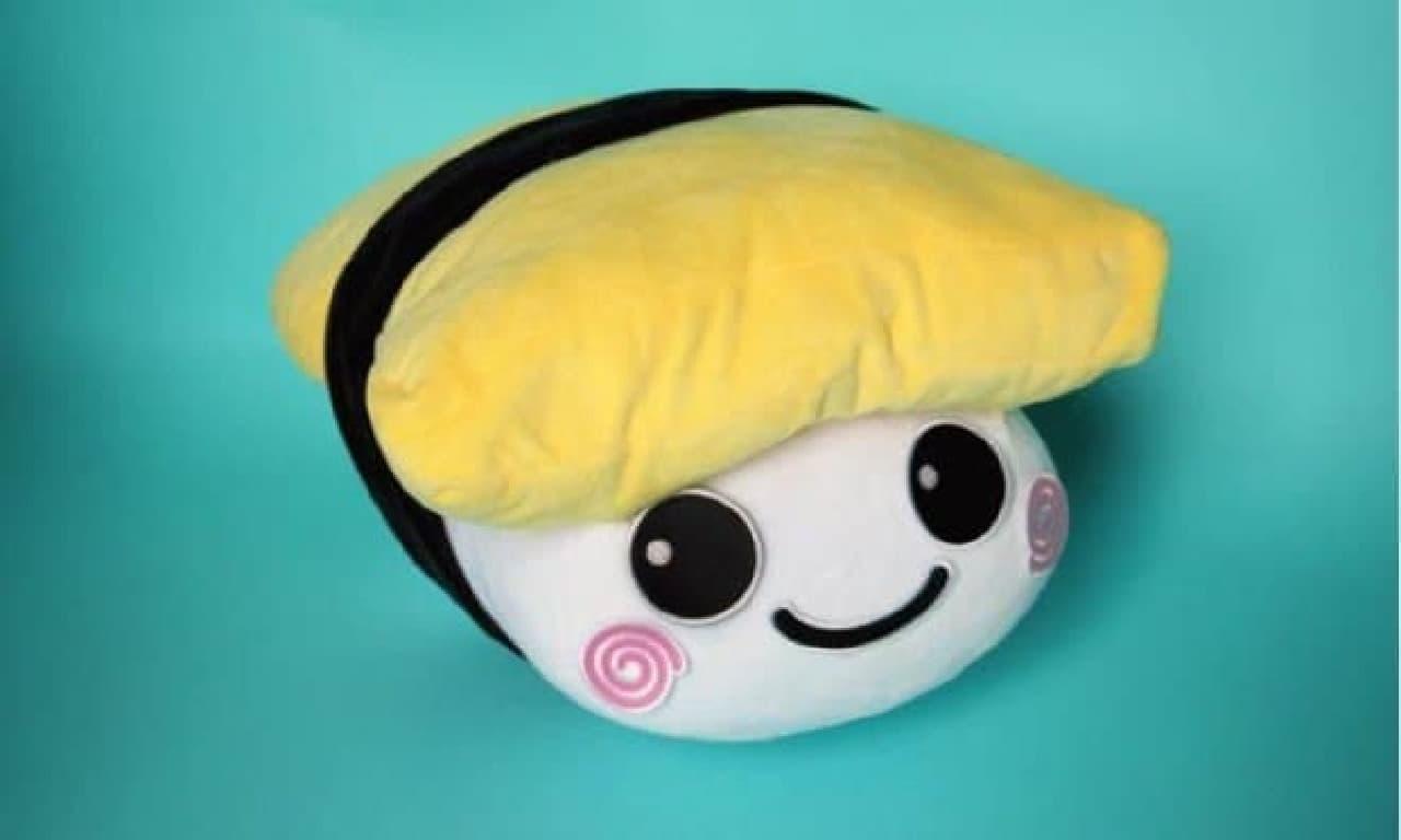 お寿司のぬいぐるみ「PUNI PUNI SUSHI」