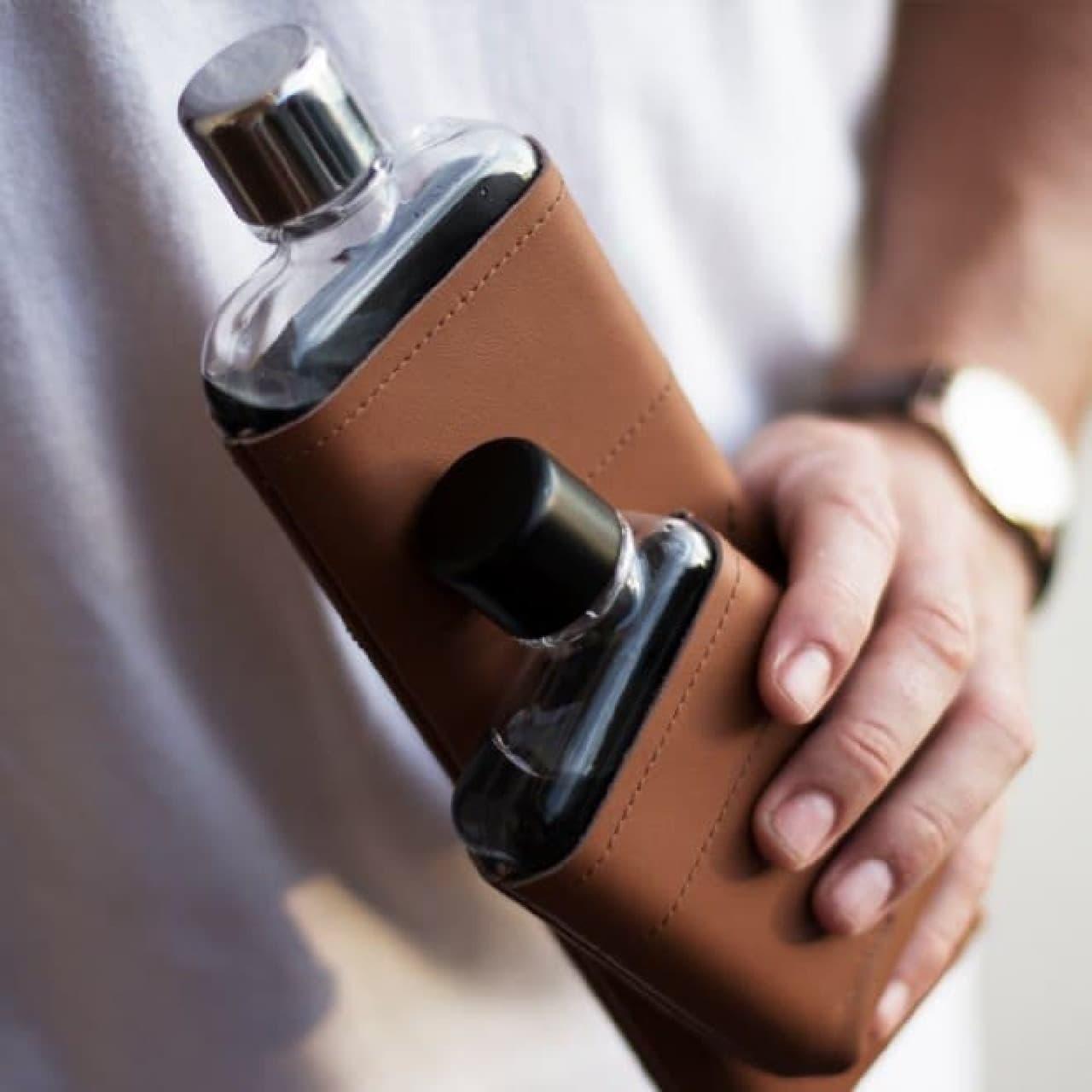 ノートPCサイズの水筒memobottleに、スマートフォン時代のサイズ感を持つ「memobottle H2.0」